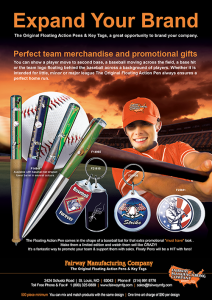 Baseball and softball Team Promotions