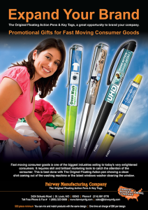 Fast Moving Consumer Goods Promotion