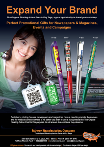 Book, newspaper and Magazine Publishing Promotion