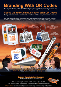 Promote with QR Codes and Floating View Products