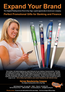 Banking and Financial Floaty Pens