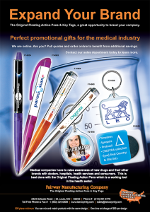 Pharmaceutical Promotions