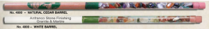 Custom Imprinted Rock Filled Pencils